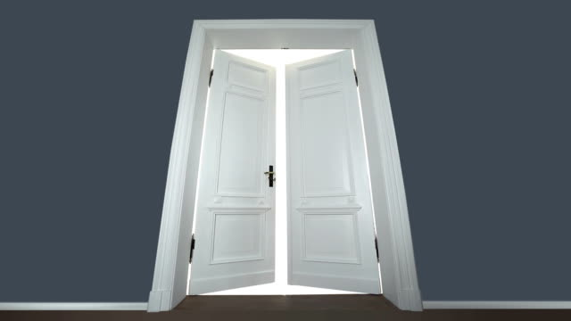Door opening to enlightenment video