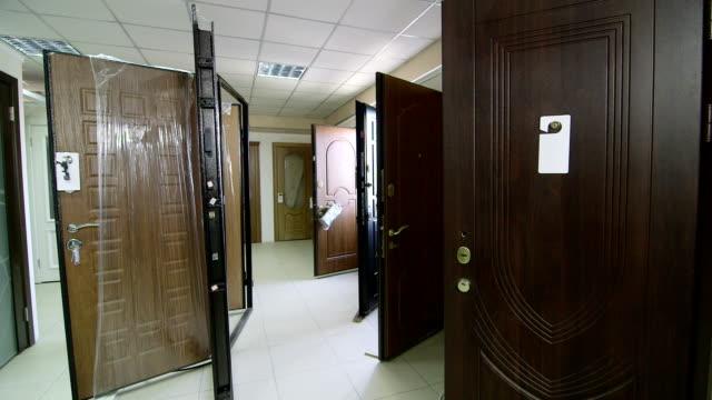 Door store showroom - internal and external doors video