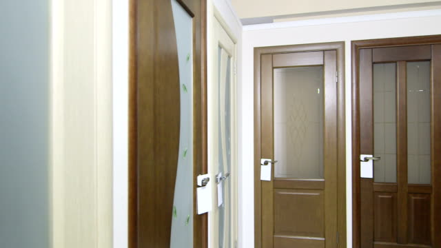 Door store showroom video