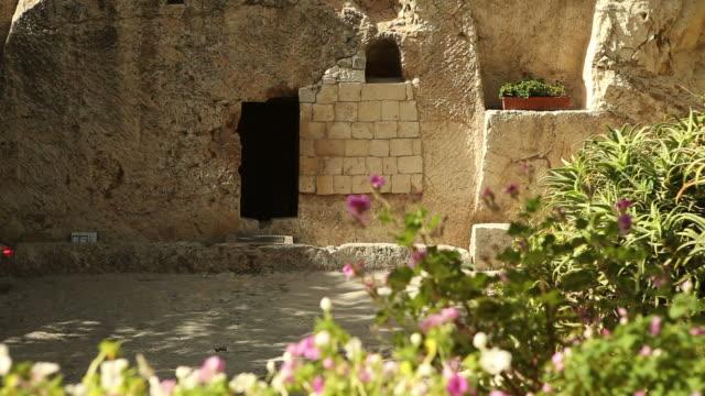 HD Door to the Garden Tomb video