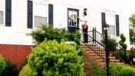 Door-to-Door Salesman video