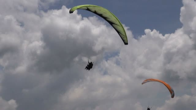Double, Pair, Two, Tandem, Parasail, Extreme Sports video