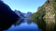 Doubtful Sound Nature Landscape, New Zealand video