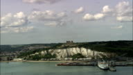 Dover Castle  - Aerial View - England, Kent, Dover District, United Kingdom video