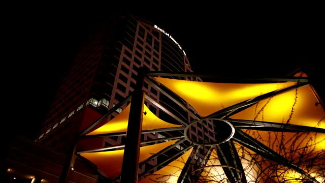Down Town Phoenix at night video