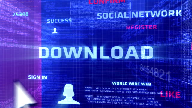 Download Button In The Digital World video