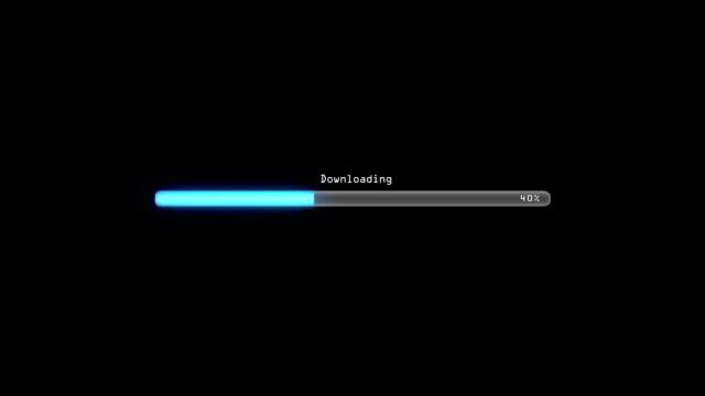 Downloading black video