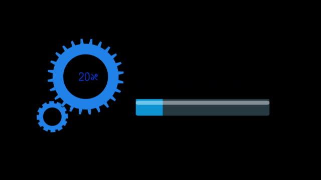 downloading progress bar video