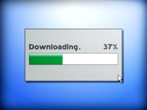 Downloading Screen video