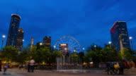 Downtown Atlanta Fountain Timelapse video