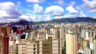 Downtown Building Timelapse, Clouds. Belo Horizonte, Minas Gerais, Brazil (Brasil) video