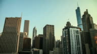 Downtown Chicago Skyline Day-to-Night 4k Timelapse video