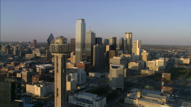 Downtown Dallas Flyby video