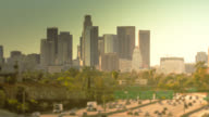 Downtown Los Angeles California timelapse video