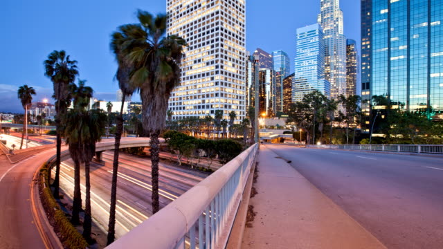 Downtown Los Angeles Time Lapse video