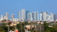Downtown Miami from Little Havana video