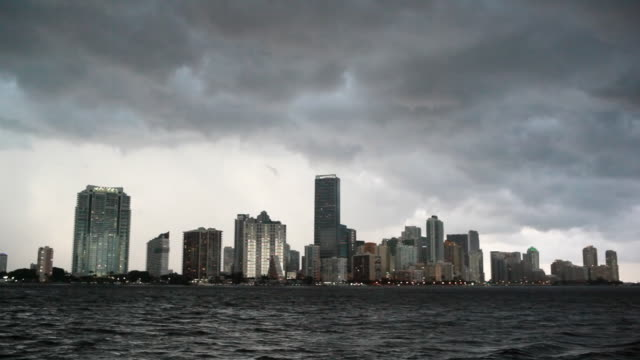 Downtown Miami Storm video