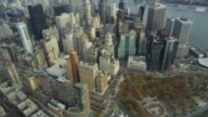 HD AERIAL: Downtown NYC video