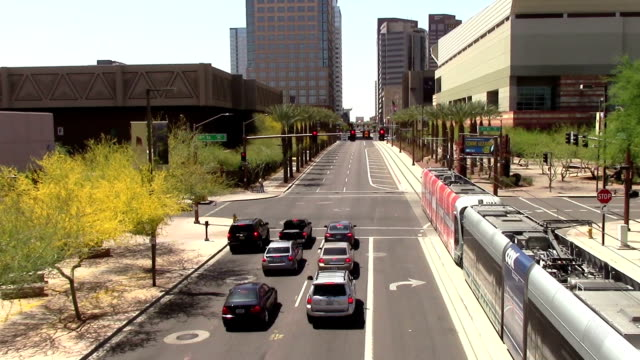 Downtown Phoenix, Arizona Street video