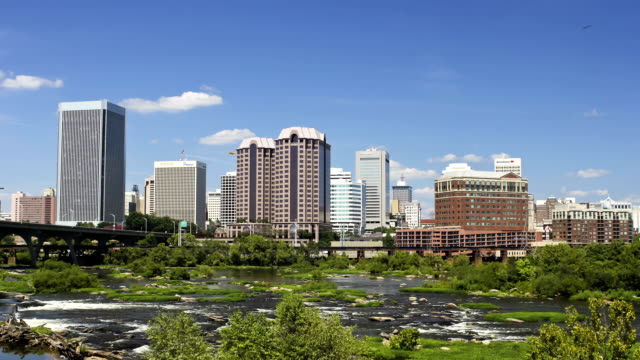 Downtown Richmond, Virginia, USA video