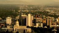Downtown Salt Lake City Time lapse video