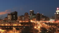 Downtown St Paul Time Lapse video