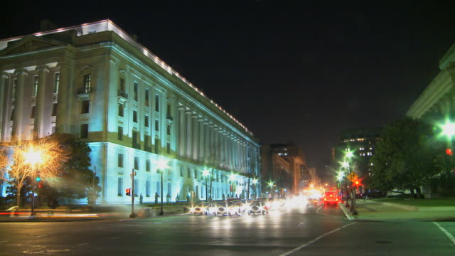LOOP Downtown Washington by Night video