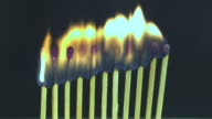 HD: Dozen Matches Burn video
