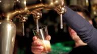 Draft beer video