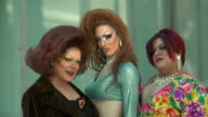 HD Drag Queens With Fans video
