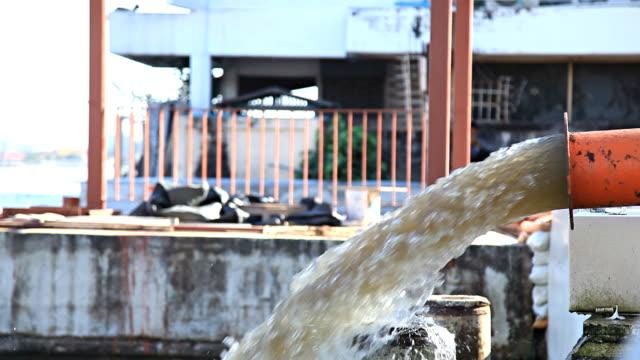 Drain waste dump video