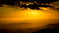 Dramatic and Colorful Sunset Timelapse over Los Angeles, California. video