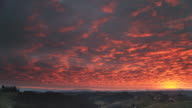 HD TIME-LAPSE: Dramatic Overcast With Sunset video
