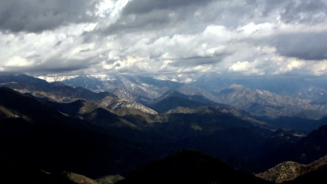 Dramatic San Gabriel Mountains North of Los Angeles video