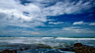 Dramatic sea video