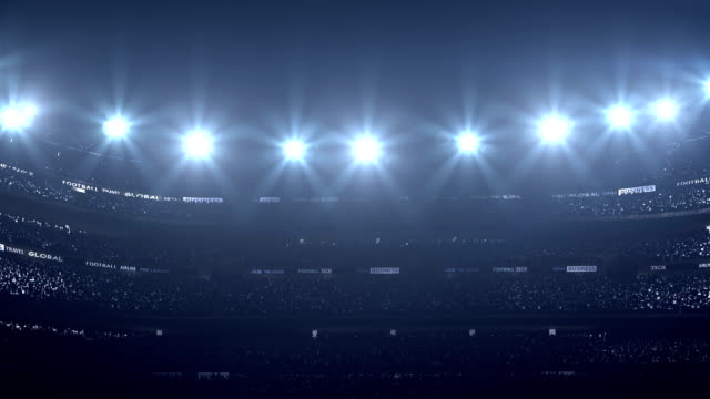Dramatic stadium video