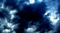 Dramatic Storm Dark Clouds video