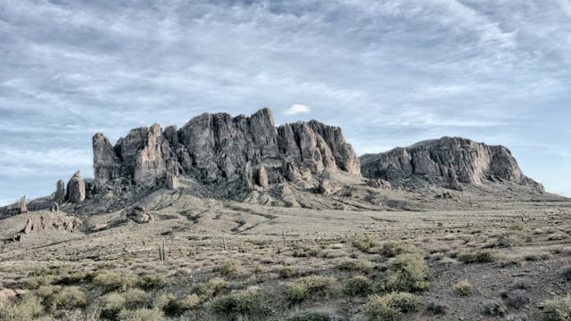 Dramatic Time Lapse of Superstition Mountain video