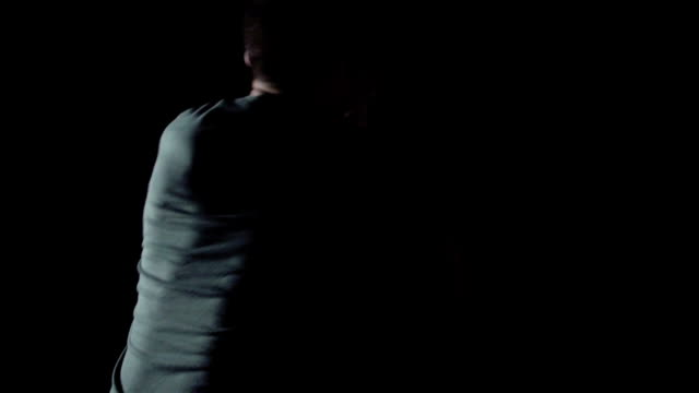 Dramatic Woman Self Defense Training, Krav Maga video