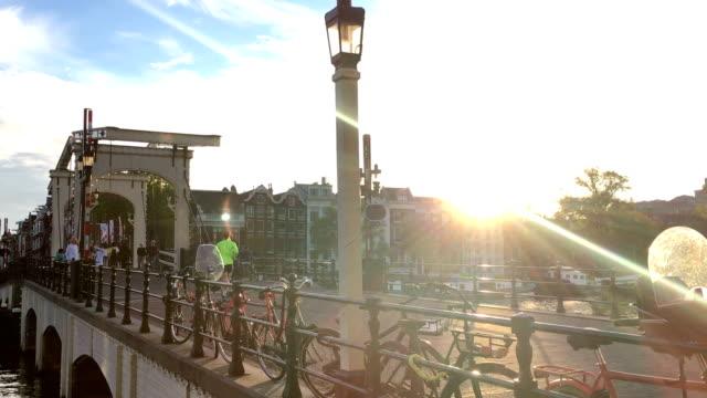 Drawbridge in Amsterdam video