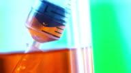 draws liquid medicine syringe and injects video