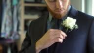 Dressing for wedding video