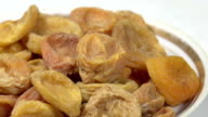 Dried Apricots in a Bowl video