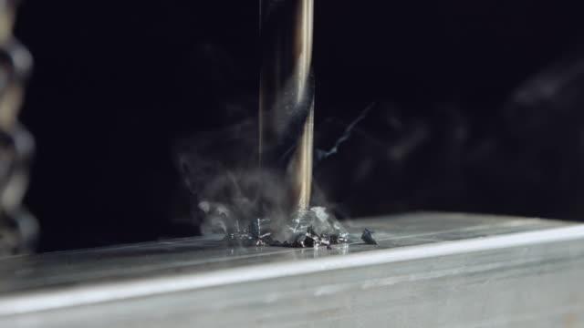 Drill Press in Metal Workshop video