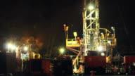 Drilling for oil in the Ecuadorian Amazon video