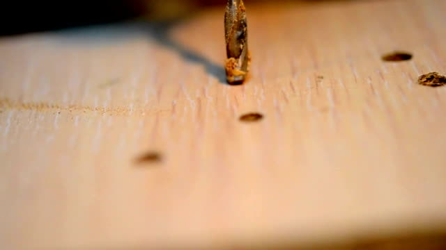 drilling holes video