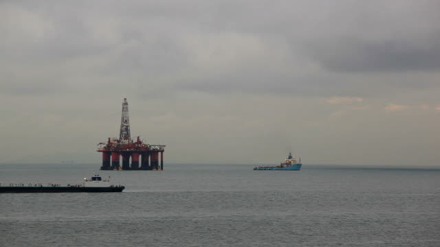 Drilling platform video