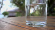 Drink Water On Table 4K video
