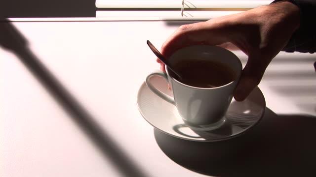 HD: Drinking Coffee video