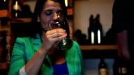 HD STOCK: Drinking wine video